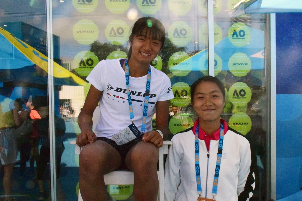 「2019 DUNLOP ROAD TO THE AUSTRALIAN OPEN JUNIOR SERIES IN YOKKAICHI」出場予定選手のお知らせ
